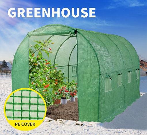 خرید نایلون گلخانه سبز
